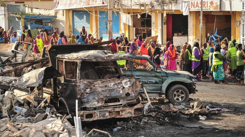 Somalia Bomb