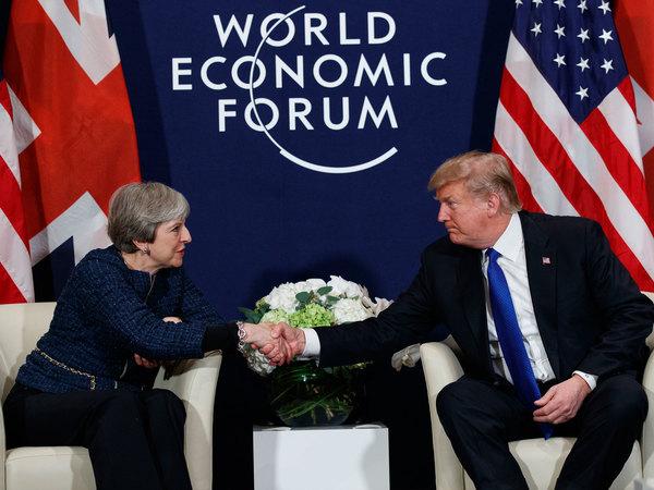 Trump Davos