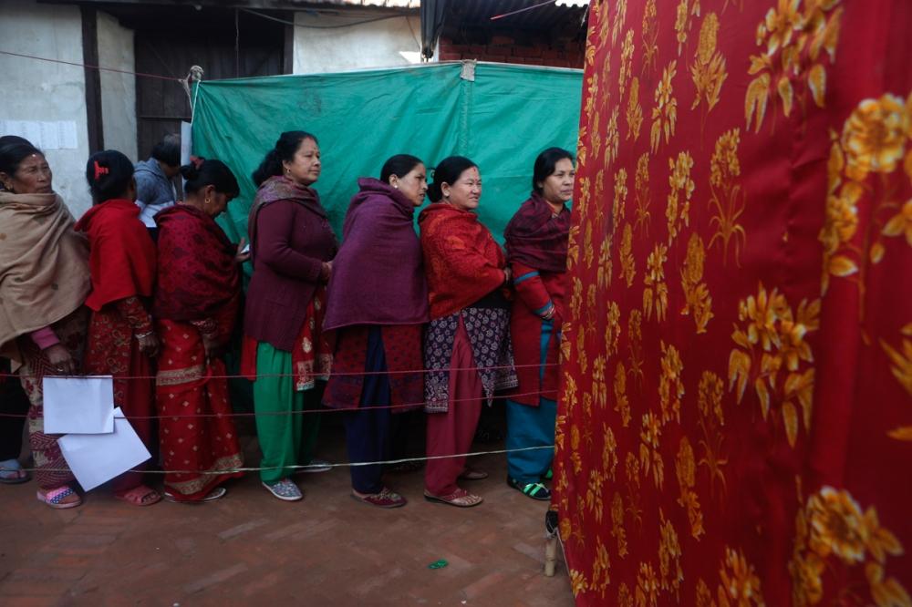 APTOPIX Nepal Election
