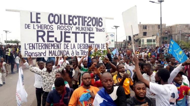 DRC Protest